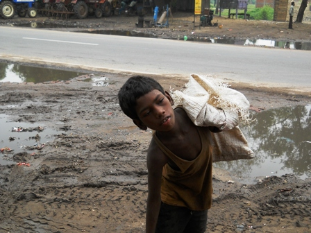 Reality of Child Labour in Bihar  Beside National Highway