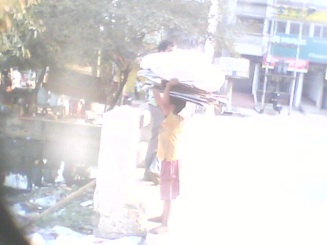 Child Labour working in OLD RMS CHOWMOHANI